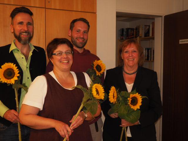 Regina Marek und Andreas Finkler führen die Harburger GRÜNEN in den Bundestagswahlkampf