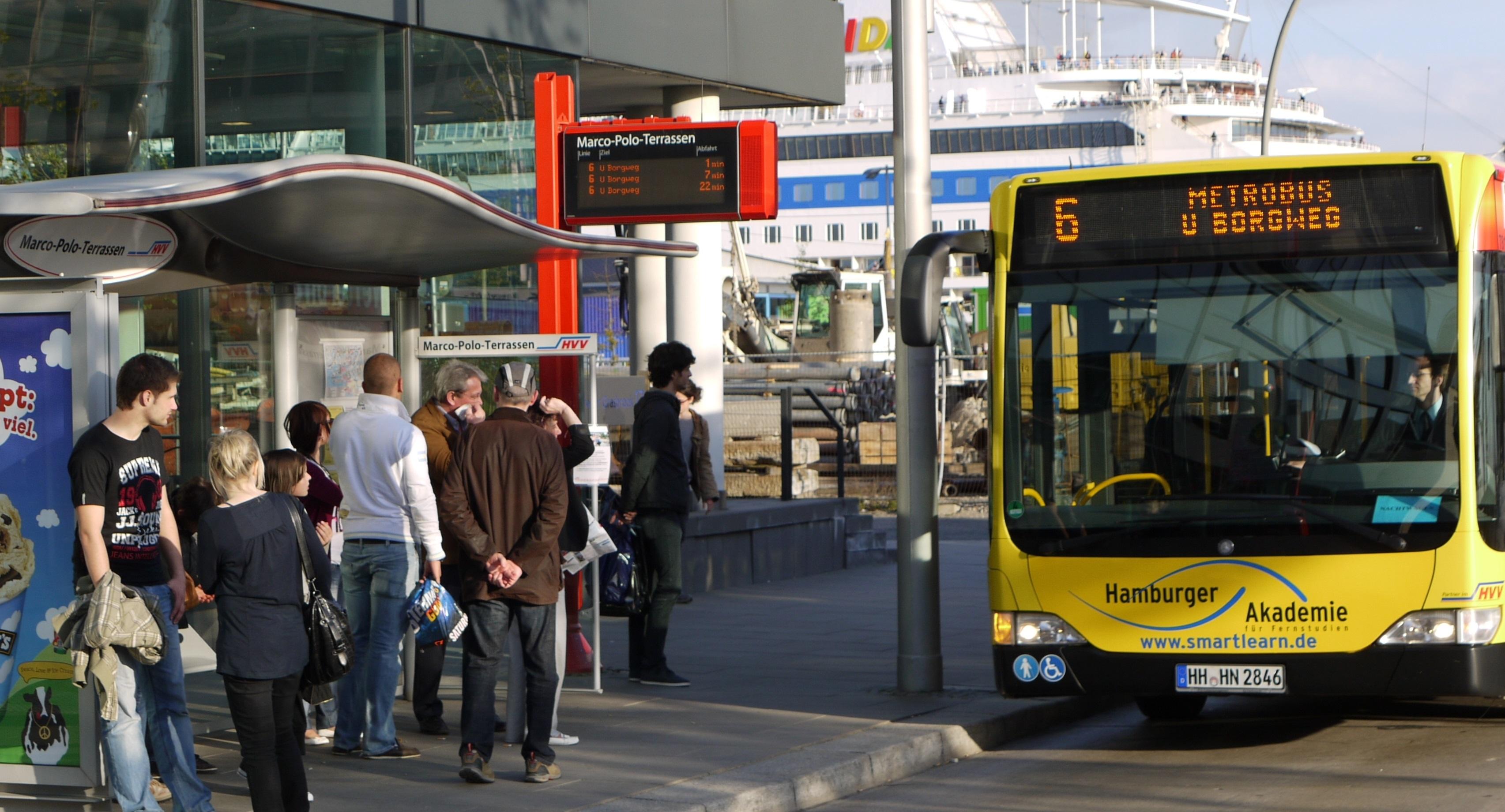 GroKo bremst die Busfahrgäste aus