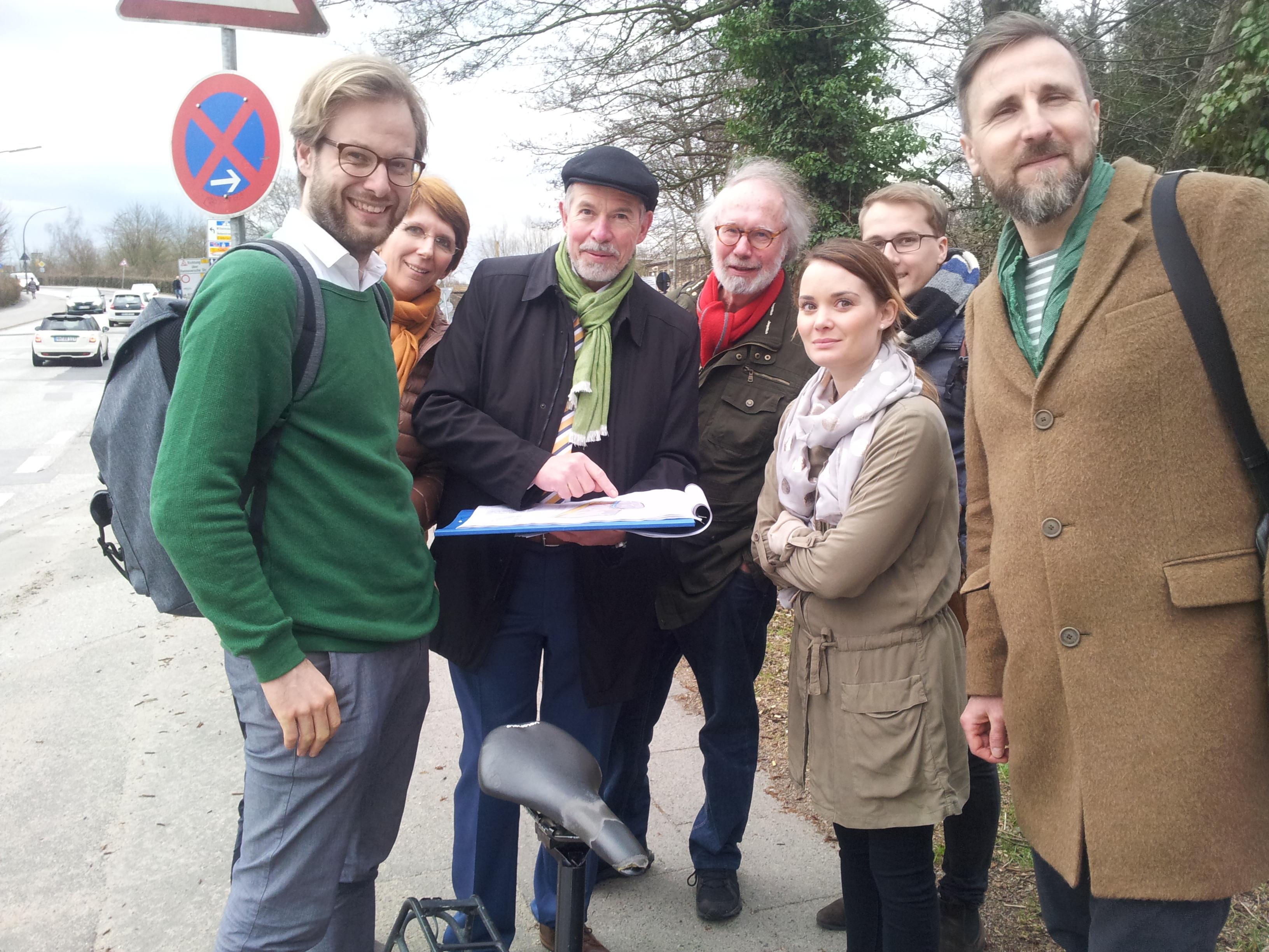 """Anjes Tjarks mit Grüner Bezirksfraktion """"on Tour"""""""