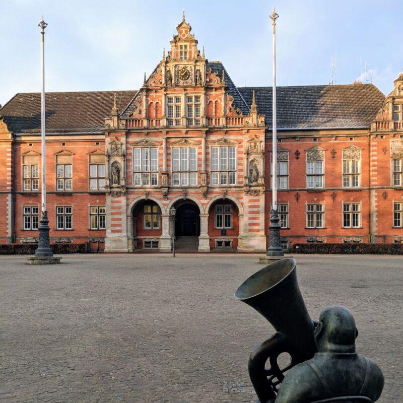 Das Harburger Rathaus