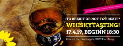To brexit or not to brexit? Whiskytasting! @ Grauer Esel