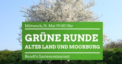 Grüne Runde Altes Land und Moorburg @ Bundt's Gartenrestaurant