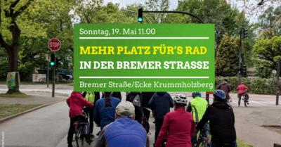 Mehr Platz für's Rad in der Bremer Straße @ Bremer Straße