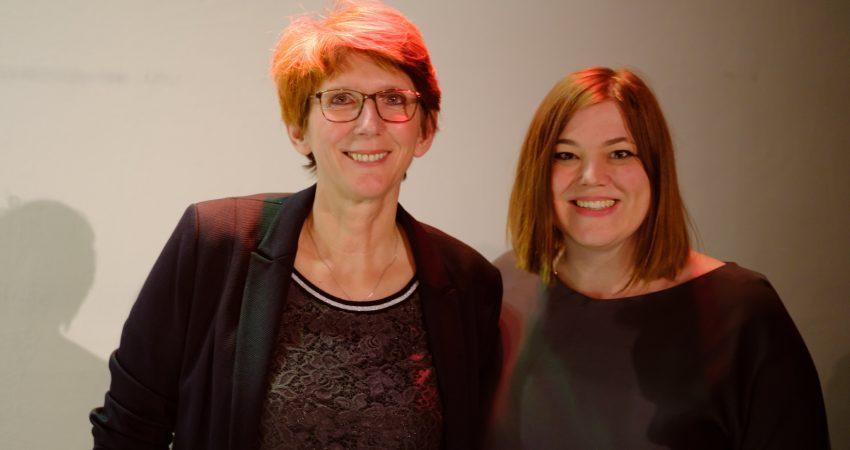 Britta Hermann und Katharina Fegebank