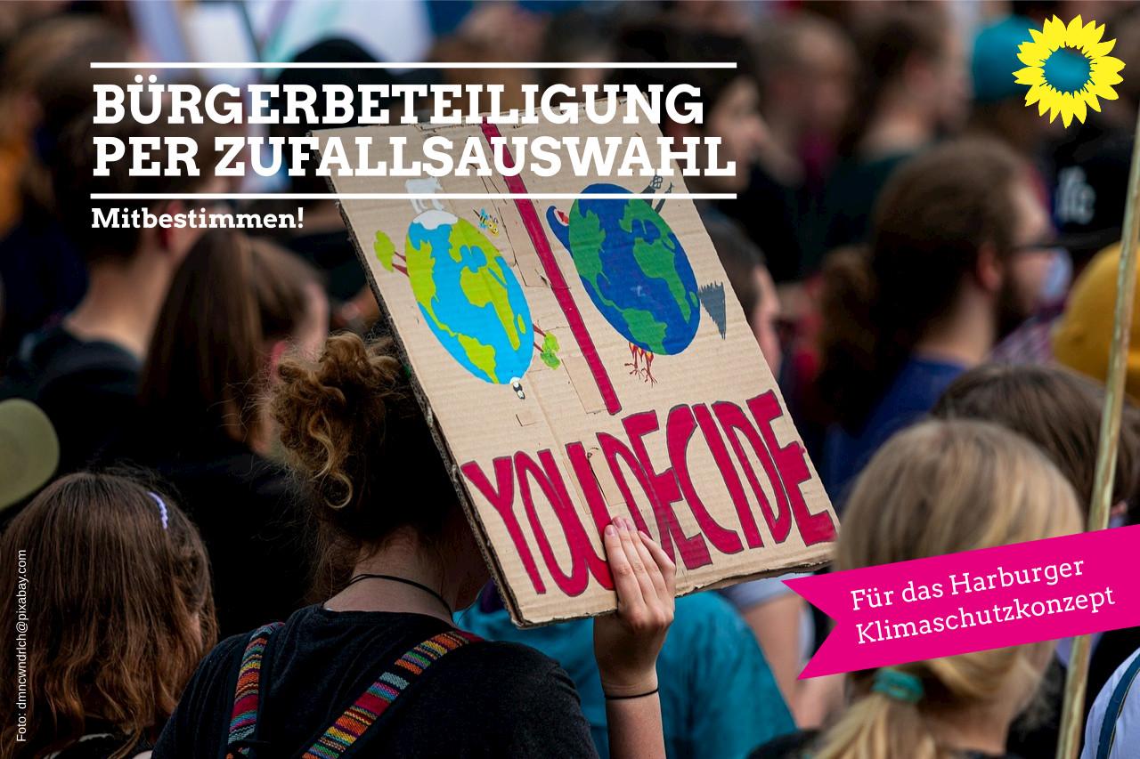 Bürgerbeteiligung bei der Gestaltung des Harburger Klimaschutzprojektes