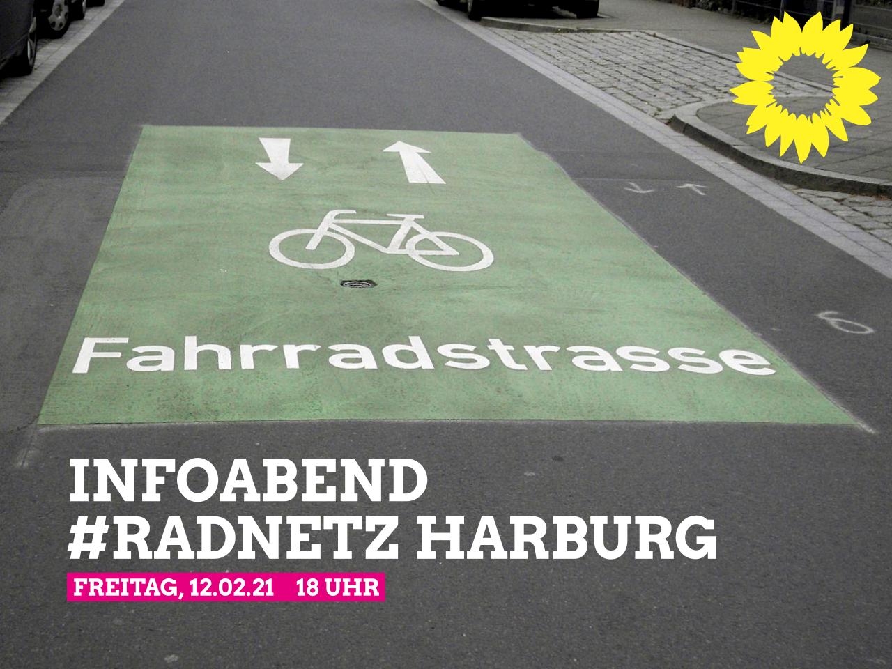 Vorstellung und Diskussion des Entwurfs des Radnetzes Harburg