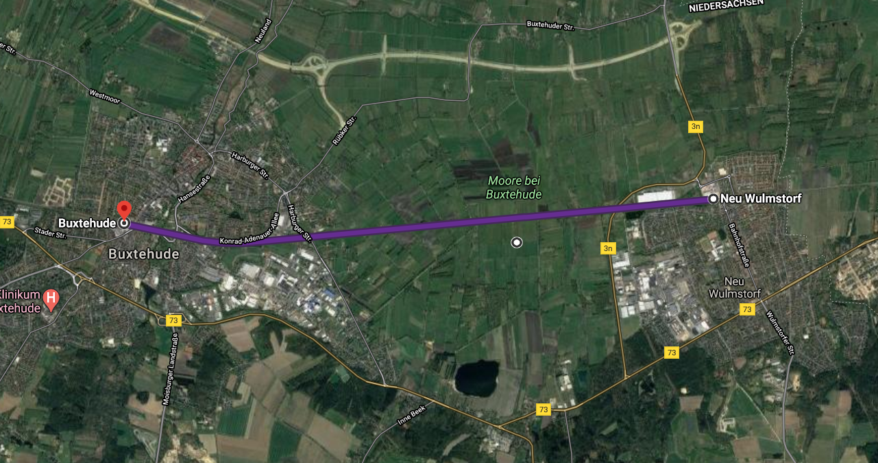 Radschnellweg Neugraben-Buxtehude