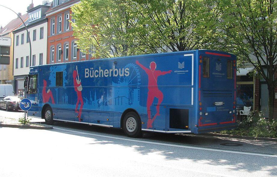Neuer Standort für den Bücherbus in Marmstorf!