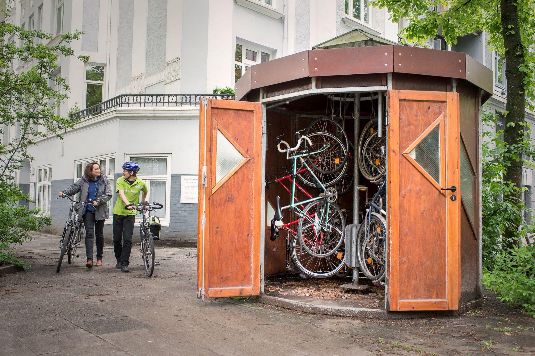 Förderprogramm für Fahrradhäuschen